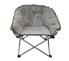 oversized college chair stone gray soft dorm seating