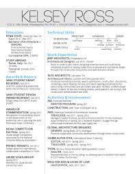 Penn State Resume Resume U2014 Kelsey E Ross