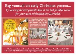 Christmas Party Nights Manchester - christmas parties at monton sports club monton eccles manchester