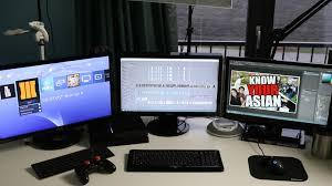Desk For Gaming Setup by Epic 15 Year Old U0027s Gaming Youtube Setup Desk Room Tour 2016