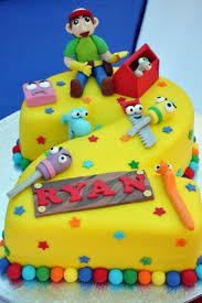 handy manny birthday cake 2 part ideas kids pinterest