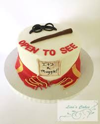 potter baby shower cake