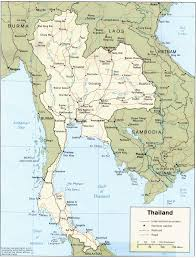 China Political Map by Map Of Thailand Printable Thailand Map Thailand Political Map