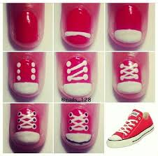 48 best converse nailzz images on pinterest converse nails