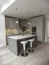 Gray Blue Kitchen Cabinets Stylish And Cool Gray Kitchen Cabinets For Your Home Throughout