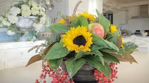 sunflower arrangements apple sunflower arrangement floristry tutorial