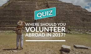 Colors In 2017 Quiz Where Should You Volunteer Abroad In 2017