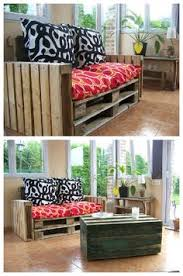 Pallet Sofa Cushions by Corner Sofa Made From Repurposed Euro Pallets Euro Pallets
