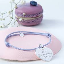 flower girl charm bracelet bridesmaid or flower girl personalised charm bracelet by merci