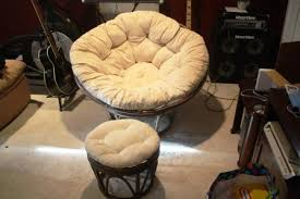 Papasan Ottoman Selling Papasan Chair And Ottoman For 50