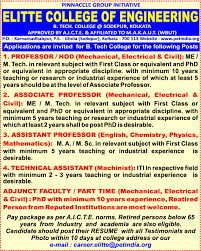 Sample Resume For Experienced Assistant Professor In Engineering College by Opportunity Assistant Professor Jobs India Careers Business