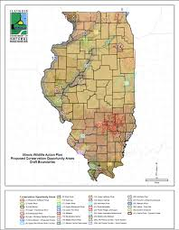 Il Map Illinois Conservation Opportunity Areas Freshwater Ecology