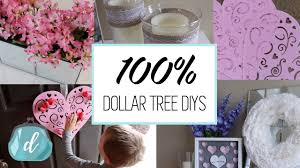 Valentine S Day Tree Decor by 100 Dollar Tree Diy Decor Ideas Valentine U0027s Day 2017 Youtube
