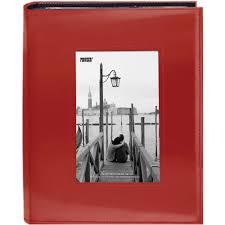 pioneer albums pioneer photo albums sewn photo album with frame cutout frm246 r