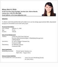 Sample Resume In The Philippines by Sample Resume Newly Graduate Nurse Philippines Chronological