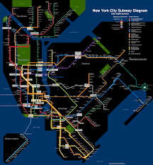 Nyc Mta Map New York City Subway