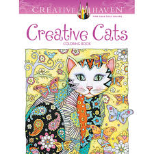 coloring book creative creative cats coloring book