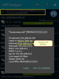 ip android how to find the router s ip address on android