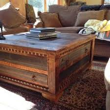 reclaimed wood square coffee table reclaimed wood trunk coffee table pictures pinterest wood