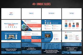 web design u0026 development project proposal powerpoint template 66476