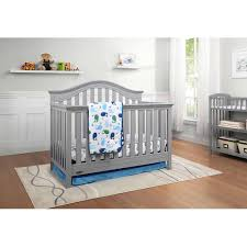 How To Convert A Graco Crib Into A Toddler Bed Graco Bryson 4 In 1 Convertible Crib Pebble Gray Walmart