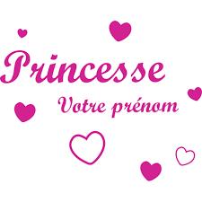 stickers chambre fille princesse stickers chambre filles prénom et coeurs décorécébo