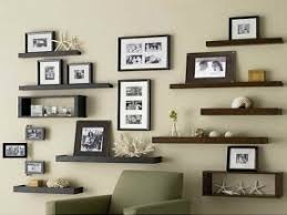 wall display wall mount display shelf foter