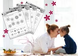 free mother u0027s day themed math worksheets the reading eggs blog