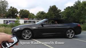 mods4cars smarttop for bmw 6 series f12 convertible operate the