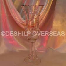 Wine Glass Flower Vase Glass Mix Range Manufacturer From Firozabad