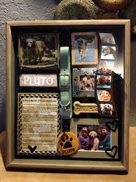 In Loving Memory Dog Tags Our Blessed Pluto Shadow Box For Pluto Pinterest Shadow Box