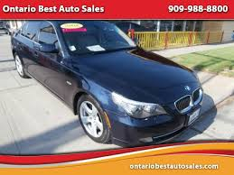 bmw 5 series for sale ontario used 2008 bmw 5 series for sale in ontario ca 91762 ontario best