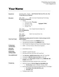 good example of resume examples of a good resume template resume