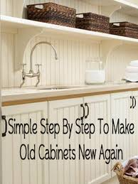 how to make kitchen cabinets look new how to make kitchen cabinets look new again trendyexaminer