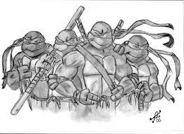 drawing ninja turtles teenage mutant ninja turtles realistic