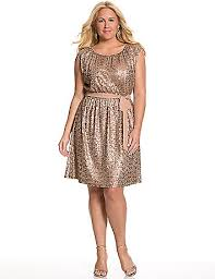 love this gold sequin dress detailed with chiffon tie belt to