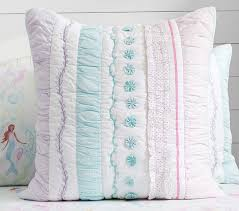 Pottery Barn Kids Quilts Bailey Ruffle Quilt Pottery Barn Kids