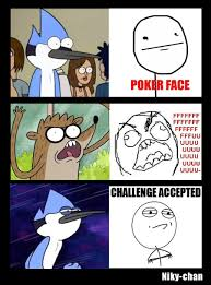 Funny Regular Show Memes - regular show think positive by chaoflakaa on deviantart