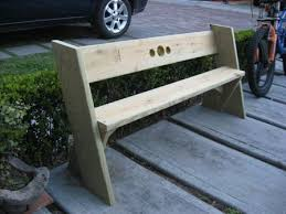 Leopold Bench Plans Easy Beach Or Garden Bench Out Of Scrap Wood