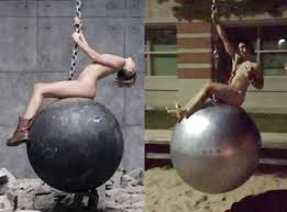 Wrecking Ball Meme - michigan university removes pendulum statue after naked students