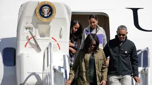 Obama First Family by The First Family In Bariloche The Obama Diary
