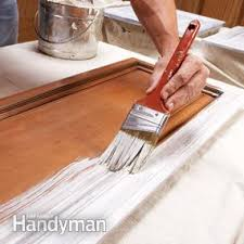 Best Paint Sprayer For Kitchen Cabinets How To Spray Paint Kitchen Cabinets Family Handyman