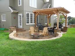 House Patio Design Exterior Comely Picture Of Outdoor Patio Design And Decoration