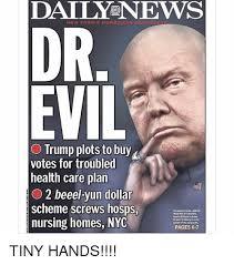 Dr Evil Meme - daily news new york s hometown dr evil o trump plots to buy votes