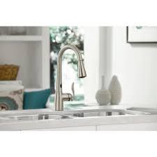 delta faucet 9178 ar dst lowes best touchless kitchen faucet 2017