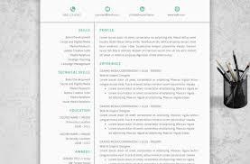 Receptionist Resume Template Free Resume Trendy Inspiration Word Format Resume 12 Document Sample