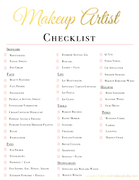 bridal makeup sets makeup artist kit checklist www fortheloveofmakeupbaby