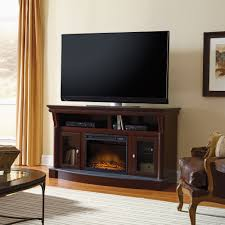 palladia fireplace media console 417907 sauder