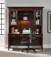 Desk Hutch Bookcase Hooker Furniture Home Office Latitude Computer Credenza Desk Hutch
