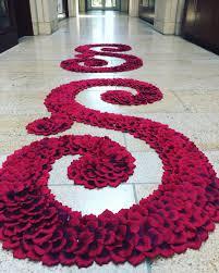 petal aisle runner elizabeth aisle runner petal aisle